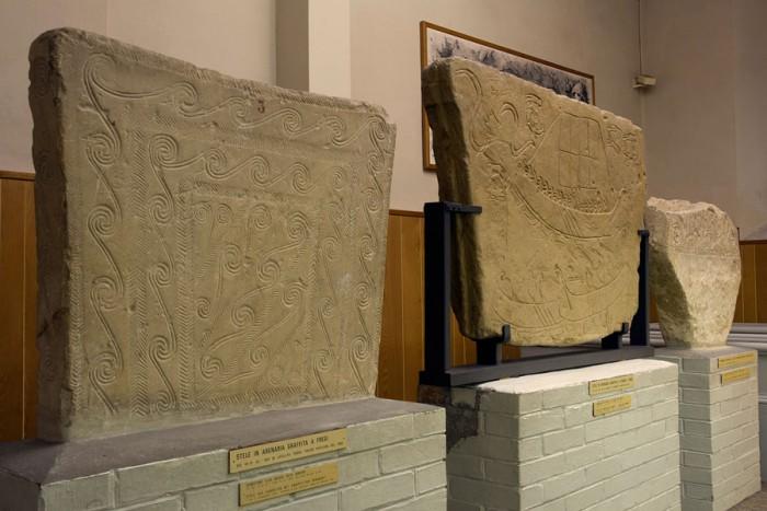 Stele graffite a figure e fregi rinvenute a Novilara e dintorni, VIII – VI secolo a.C.